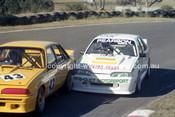 90328 - Brian Callaghan Jnr. & Bob Pearson,Commodore - Amaroo Park 5th August 1990 - Photographer Lance J Ruting