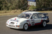 90324 - Ray Lintott, Sierra RS500 - Amaroo Park 5th August 1990 - Photographer Lance J Ruting