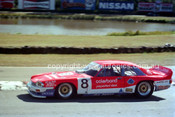 90322 - Mark McLaughlin, Jaguar - Amaroo Park 5th August 1990 - Photographer Lance J Ruting