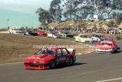 90315 - Rob Jolly, Commodore - Amaroo Park 5th August 1990 - Photographer Lance J Ruting