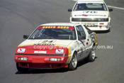 89546 - Roger Hurd, Mitsubishi Starion - Amaroo Park 6th August 1989 - Photographer Lance J Ruting