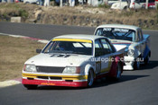89545 - Kevin Kennedy, Commodore & Rodney Brown, EH Holden - Amaroo Park 6th August 1989 - Photographer Lance J Ruting