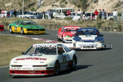 89532 - Bryan Thomson, Toyota Supra - Amaroo Park 6th August 1989 - Photographer Lance J Ruting