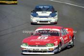 89530 - Kevin Bartlett, Jaguar - Amaroo Park 6th August 1989 - Photographer Lance J Ruting