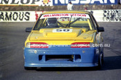 89527 - John Leeson Commodore - Amaroo Park 6th August 1989 - Photographer Lance J Ruting