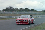 86079 - Charlie O'Brien / Garry Rogers, BMW 635i  - Sandown Castrol 500 1986 - Photographer Peter D'Abbs
