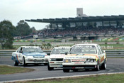 86078 - Graeme Bailey / Allan Grice, Commodore  - Sandown Castrol 500 1986 - Photographer Peter D'Abbs