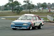 86076 - Warren Cullen / Gary Sprague, VK Commodore  - Sandown Castrol 500 1986 - Photographer Peter D'Abbs
