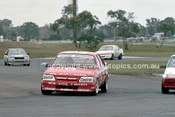 86075 - Graeme Crosby / Wayne Wilkinson, Commodore  - Sandown Castrol 500 1986 - Photographer Peter D'Abbs