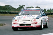 86074 - Peter Brock / Allan Moffat, VK Commodore  - Sandown Castrol 500 1986 - Photographer Peter D'Abbs