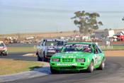 84441 - Dick Johnson, Mustang - Calder 1984 - Photographer Peter D'Abbs