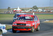 84439 - Mike Minear, Volvo 360 - Calder 1984 - Photographer Peter D'Abbs