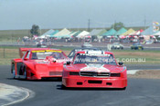 84437 - Bryan Thomson & Graeme Whincup, Chev Monza - Calder 1984 - Photographer Peter D'Abbs