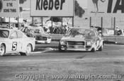 77030 - B. Gill Ford Capri / T. Leo Holden HQ Kingswood / R. Monahan Torana - Calder 1977