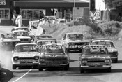 73447 - Bob Holden & Lyndon Arnel, Ford Escort - Amaroo Park 22nd July 1973 - Photographer Lance J Ruting