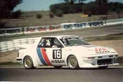 84738 - Christine Gibson / Glen Seton Nissan Pulsar EXA Turbo  - Bathurst 1984