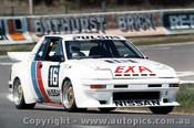 84739 - Christine Gibson / Glen Seton Nissan Pulsar EXA Turbo  - Bathurst 1984