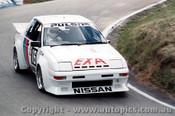 84740 - Christine Gibson / Glen Seton Nissan Pulsar EXA Turbo  - Bathurst 1984