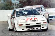 84008 - Christine Gibson  Pulsar EXA Turbo  - Oran Park 1984