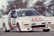 84009 - Christine Gibson  Pulsar EXA Turbo  - Oran Park 1984