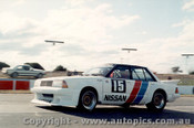 84011 - G. Fury Nissan Bluebird Turbo - Oran Park 1984