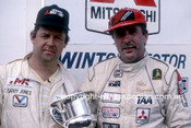 85067 - Peter Fitzgerald & Barry Jones - Winton 1985 - Photographer Ray Simpson