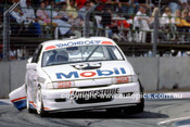 91045 - Peter Brock, Commodore - Bob Jones, Commodore - Adelaide 1991 - Photographer Ray Simpson