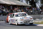 91046 - Peter Brock, Commodore - Bob Jones, Commodore - Adelaide 1991 - Photographer Ray Simpson