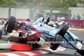 99014 - #35 Ian Moncriett, Van Diemen RF91 & #11 Stewart McColl Spectrum 06B Formula Ford - Indy 1999 - Photographer Marshall Cass
