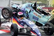 99015 - #35 Ian Moncriett, Van Diemen RF91 & #11 Stewart McColl Spectrum 06B Formula Ford - Indy 1999 - Photographer Marshall Cass