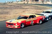 75020 - J. Richards Mustang / A.  Moffat Ford Capri - Amaroo Park 1975