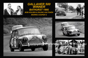 171S - Morris Cooper S - Bathurst Winner 1966 - The first nine place getters. 8x12 $5.00