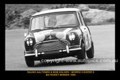 66702-1S - Rauno Aalton & Bob Holden, Morris Cooper S - Bathurst Winner 1966  -8x12 $5.00