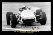 67505-1S  -  Jack Brabham  -  Repco Brabham V8  Warwick Farm  1967 - 8x12 $5.00