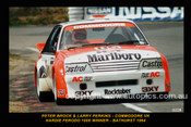 84710  -  Peter Brock / Larry Perkins   -  Bathurst   Winner 1984 - Holden Commodore VK