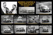 170S - Bon Holden & Raaltonen, Morris Cooper S  - Bathurst Winner 1966 - 12x18 $10