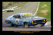 74729-1S -  J. Goss / K Bartlett  -  Bathurst Winner 1974 - Ford Falcon GT - XB  - 12x18 $10