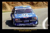 81703-1S  -  Dick Johnson / John French  -  Bathurst 1981 - 1st Outright - Ford Falcon XD   - 12x18 $10