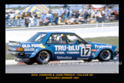 81840-1S  -  Dick Johnson / John French  -  Bathurst 1981 - 1st Outright - Ford Falcon XD   - 12x18 $10
