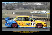 94733-1S  -  D. Johnson / J. Bowe - Falcon EB -  Bathurst Winner 1994   - 12x18 $10