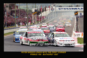 97700-1S - The Start of the Supercheap Auto 1000  Bathurst 1997 - Brock  and Perkins lead the pack.   - 12x18 $10