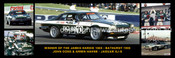 177s - John Goss & Armin Hahne Jaguar XJ-S - Bathurst Winner 1985 -  A Panoramic Photo 30x10inches Only $10