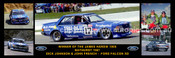 174S - Dick Johnson & John French, Falcon XD - Bathurst Winner 1981 -  A Panoramic Photo 30x10 inches.