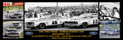 172S - A. Moffat / J. Ickx & C. Bond / A. Hamilton - Bathurst Winner 1977 -  A Panoramic Photo 30x10 inches.