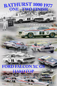 1166 - One Two Finish, Bathurst 1977, Falcon XC GS - Allan Moffat, Jackie Ickx & Colin Bond, Alan Hamilton