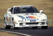 95049 - John Bowe and Dick Johnson Mazda RX-7 SP  1995 Eastern Creek 12 Hour - Photographer Lance J Ruting