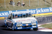 92056 -  Peter Fitzgerald / Jim Zerefos / Brett Peters, Holden VN Commodore SS - Bathurst 12 Hour 1992 - Photographer Ray Simpson