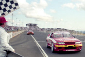 92052 - Mark Skaife & Jim Richards  - Nissan GTR - Oran Park 1992