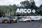 82080 - Kevin Bartlett, Camaro / Peter Brock, Commodore / Allan Moffat, Mazda - Sandown 1982