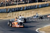 74669 - John Walker Lola T 332 / Warwick Brown & Graeme Lawrence, Lola T332 - Oran Park 1974  - Photographer Lance Ruting